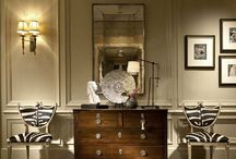 Antiqued Mirrors In Design / by Christine Hyder