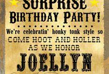 Mum's Birthday Invites