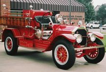 Fire Engines / I was raised in the fire department. / by Richard Moser