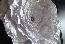 бумажные цветы.Paper flovers