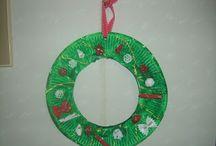 christmas wreath / by Fay Trigoni