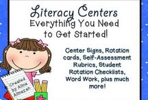 * Reading and Literacy Centers