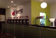 YUMZ Tampa, FL / Address: 17693 North Dale Mabry Highway, Lutz, Florida 33548 Phone: 813-962-1057 Hours: Sunday — Thursday: 11:30 AM — 10PM. Friday & Saturday 11AM — 11PM http://www.yumzfrozenyogurt.com  / by Yumz Gourmet Frozen Yogurt