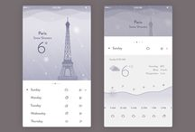 Mobile UI - Weather App