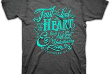 Christian T-Shirts for Women / Christian t-shirts that reflect the joy, hope, and everlasting promises of God. Southern Couture, Kerusso, Sassy Frass Tees