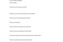 Kid Interviews / by Kerilee Law
