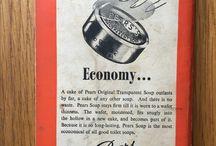 Wartime ads from vintage Penguin books