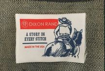 "Dixon Rand / Dixon Rand Western Shirts...""A Story in Every Stitch"""