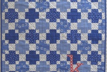 blue quilts