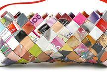 kabelky z papíru