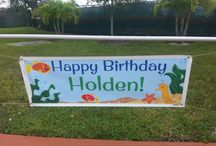 Holden's Underwater Theme Party / by Julie Monzon-Parsons