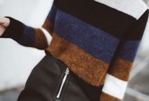 Strikke genser