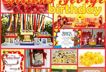 Walt's 2nd birthday - Curious George / by Hailey White