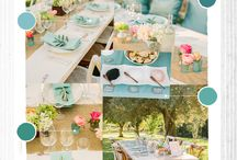 the Shades of Blue / Shades of  B L U E  to fall in love with and add to your wedding color palette.