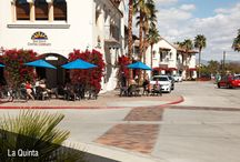 La Quinta Winter / La Quinta is a desert resort city in Riverside County, California, about 30 minutes southeast of #PalmSprings. La Quinta, #California lures vacationers with sunny days and mild winter temperatures. #travel #vacation #golf