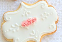 Wedding Cookies / A collection of wedding-themed decorated cookies