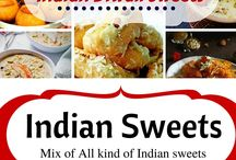 Indian desserts / From simple, easy to make to stylish and elaborate Indian desserts.