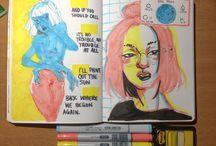 Art book stuff