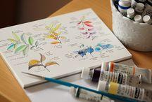 watercolor sketch & art journaling