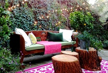 Inviting / Inviting outside living spaces.
