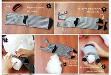 Socks DIY Doll