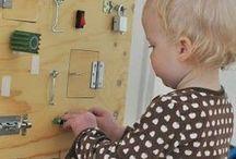sensory board / Homemade sensory board
