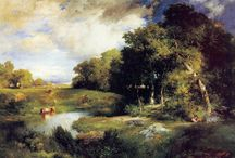 Pastoral Paintings / Paintings evoking the sublime pleasures of country living