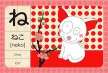 hiragana, katakana, kanji