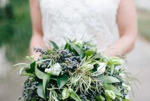 Wedding Bouquets-Green / Wedding ideas