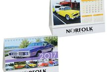 Calendars / What other promo gives you a full year of advertising? Beautiful promotional calendars set the scene for months of logo exposure.