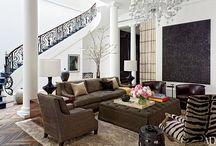 Living Room / www.ericaandtiffany.com #ericaandtiffany