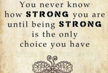 Being strong!