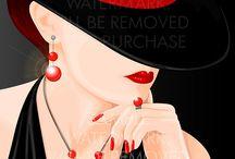 Dama de chapéu