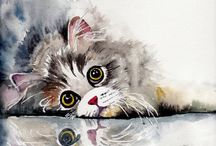 koty w malarstwie