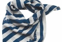 Foulard, écharpes / Carrée de soie & écharpes
