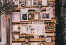 Display photos at weddings