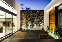 Courtyard & landscaping