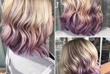 Hair cuts and color