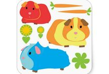 Guinea Pig themed gifts and cards