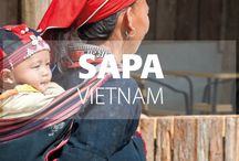 Sapa, Vietnam / Hidden in the misty mountains, Sapa, and the surrounding area offers idyllic hiking trails, beautiful ethnic markets, and a remote and rural side to Vietnam so many miss. Get off the beaten track here to experience Vietnam's wilder side!