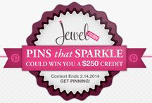 Pins That Sparkle / Pin your favorite pieces from our website and you could win a $250 gift card! Contest ends 2.14.2014!
