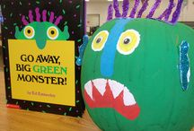 Go Away Big Green Monster / by Shanda Fitte @ My Intentional Play