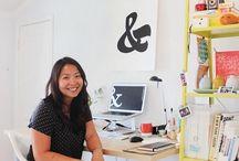 Mieszkanie 37m2 Kalifornia, USA / Mieszkanie ma 37m2 i jest częścią domu gościnnego położonego w Kalifornii, USA. Zamieszkuje je dziewczyna Jennifer Chong. To młoda designerka, podróżniczka i fotograf. więcej http://www.szczyptadesignu.pl/2016/03/mieszkanie-37m2-kalifornia-usa.html