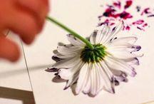 virágfestés