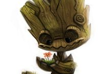 Groot and co' / Because I'm Groot !
