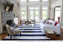 Living Room Ideas / Great decoration ideas for my living room when we build our new house.