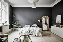 Home, Dramatic and Dark Walls