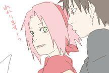 Kankuro and Sakura