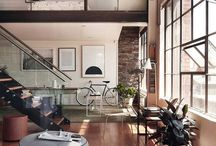 Spaces / comfort, homey,stylish