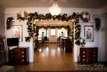 Christmas at Overhills Mansion
